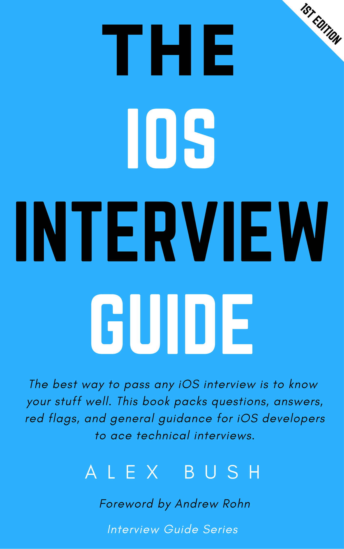 The iOS Interview Guide Book Cover